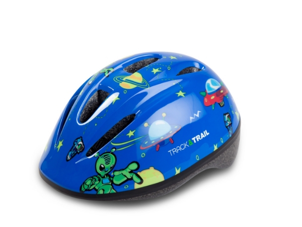 Track & Trail Kids Helmet - Blue