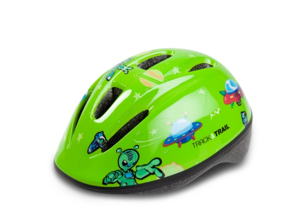 Track & Trail Kids Helmet - Green
