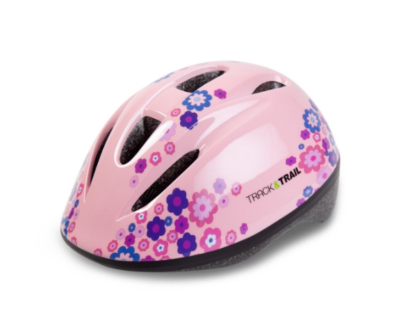 Track & Trail Kids Helmet - Light Pink