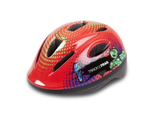 Track & Trail Kids Helmet - Red