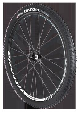 Vittoria Creed 29 15mm Thru Axle Wheels