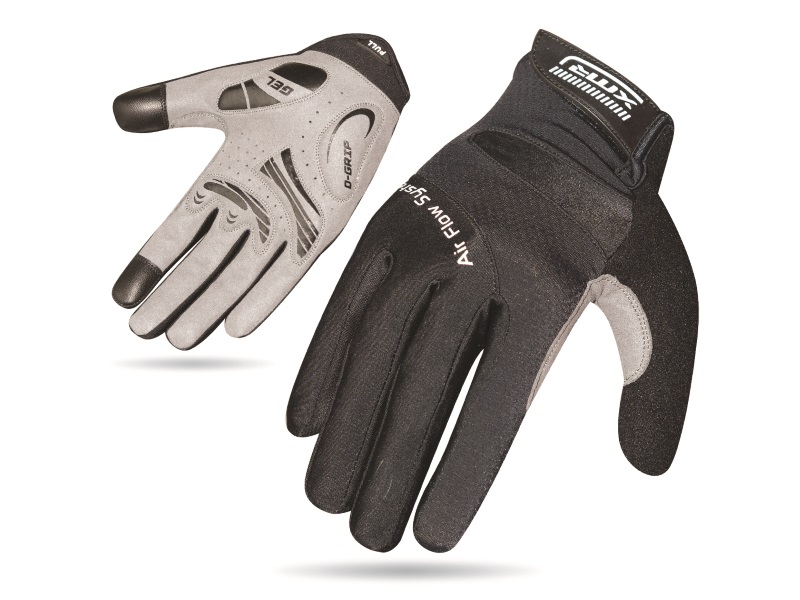 XMR Air Flow Gel Gloves - Black