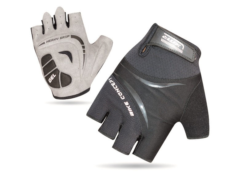 XMR Bike Concept Gel Gloves - Black