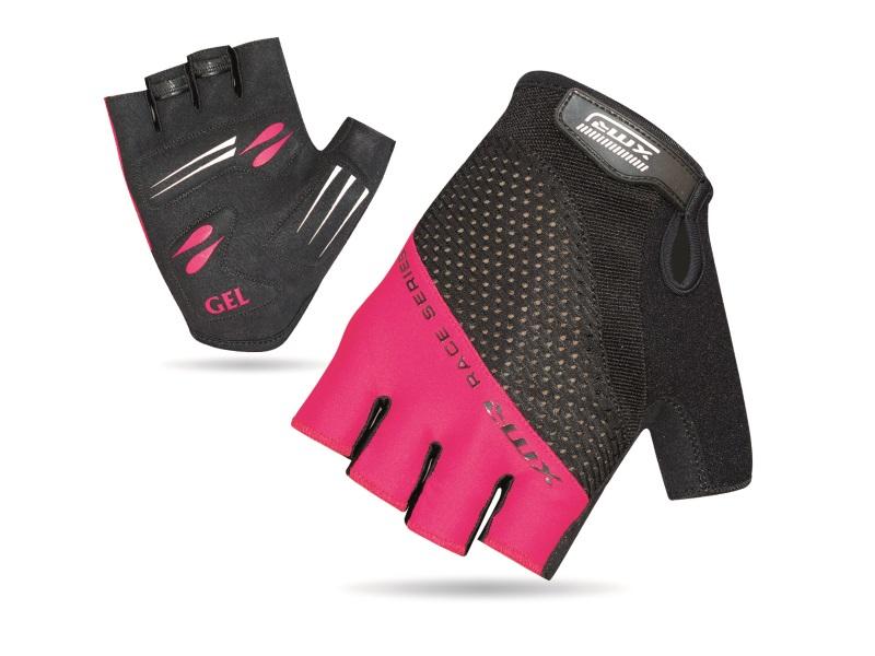 XMR Race Series Gell/Foam Gloves - Black/Light Pink