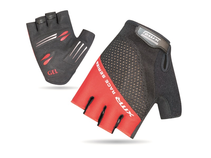 XMR Race Series Gel/Foam Gloves - Black/Red