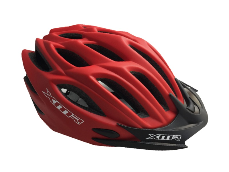 XMR Volcano MTB helmet Red