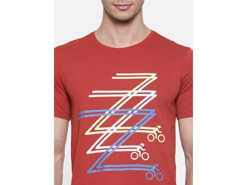 2Go Burnt Orange Cycling T Shirt