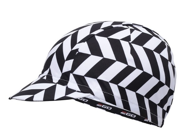 2Go Cycling Cap - Black/White