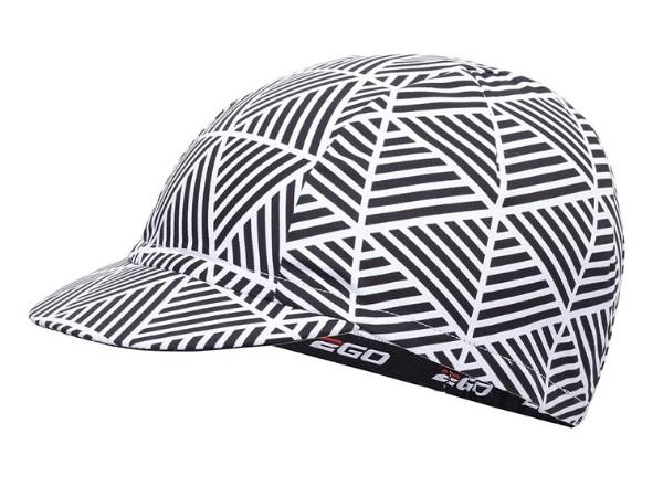 2Go Cycling Cap - White/Black