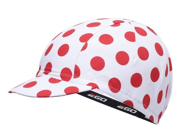 2Go Cycling Cap - White/Red