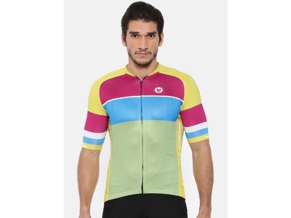 2Go Cycling Jersey - Celery