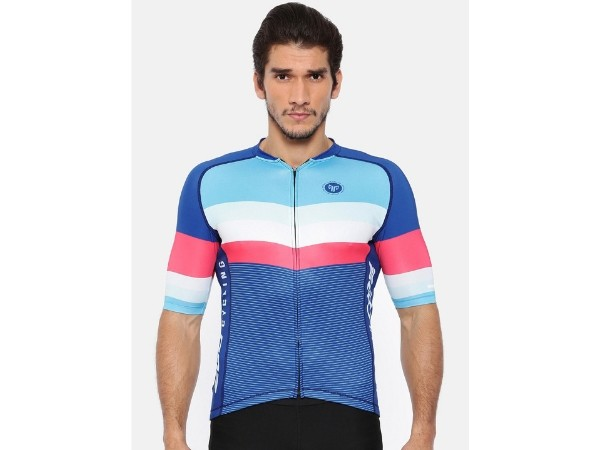 2Go Cycling Jersey - Prussian Blue