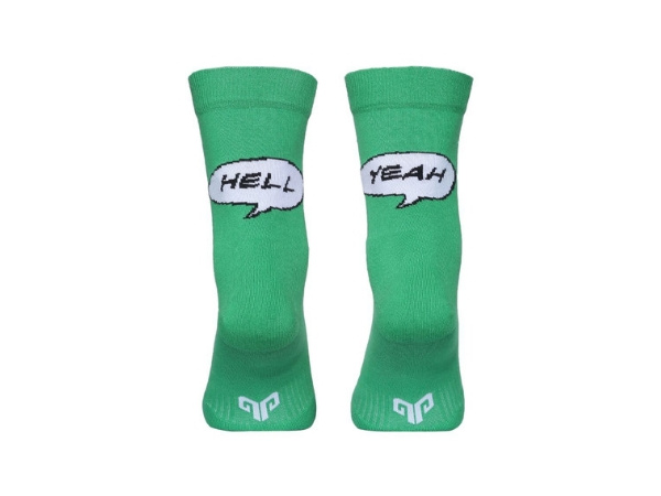 2Go Cycling Socks - Green