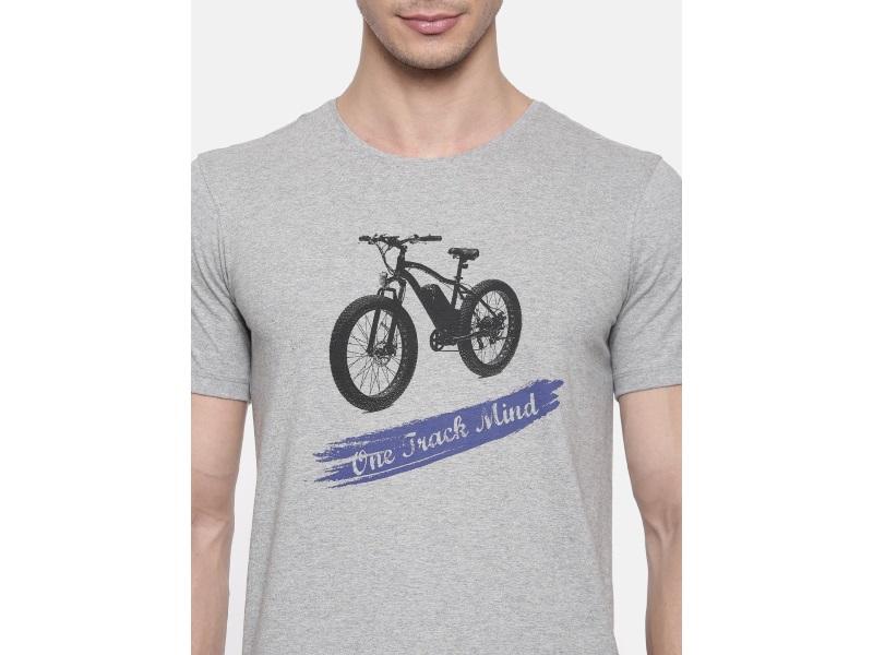 2Go Grey Cycling T Shirt