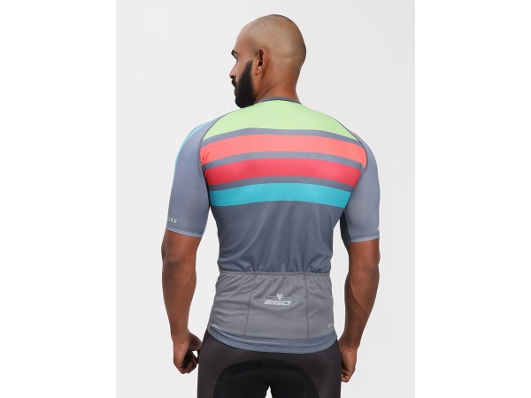 2Go Men Ash Cycling Jersey