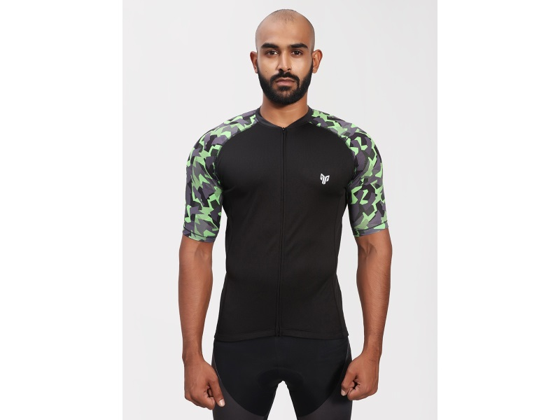 2Go Men Raven Cycling Jersey