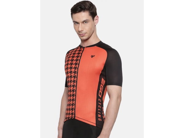 2Go Men Red Cycling Jersey