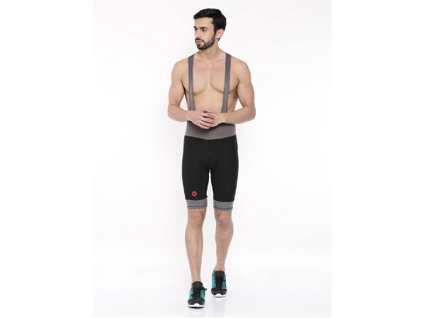 2Go Men's Bib Shorts - Black