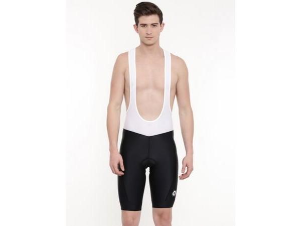 2Go Men's Bib Shorts - Black/White