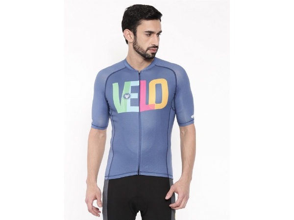 2Go Men's Cycling Jersey - Velo Love - Blue
