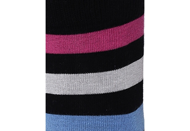 2Go Pull Up Length Cycling Socks - Dark Blue