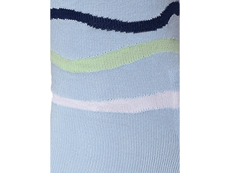 2Go Pull Up Length Cycling Socks - Light Blue