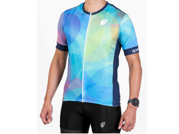 Apace Breakaway Race Fit Jersey - Bubble
