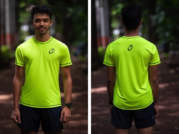 Apace Easy Roundneck T-Shirt - Mens - Neon Yellow