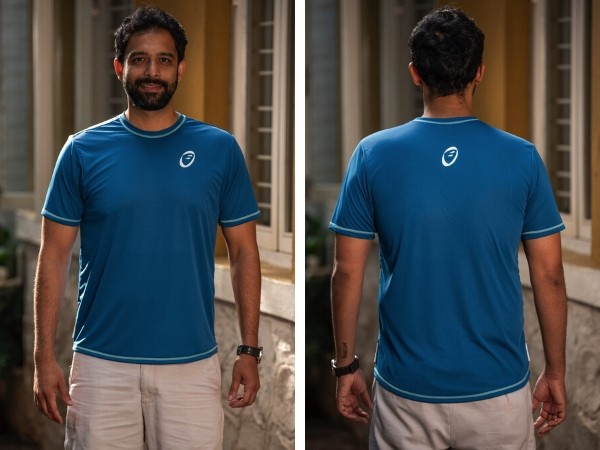 Apace Easy Roundneck T-Shirt - Mens - Teal