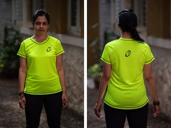 Apace Easy Roundneck T-Shirt - Womens - Neon Yellow