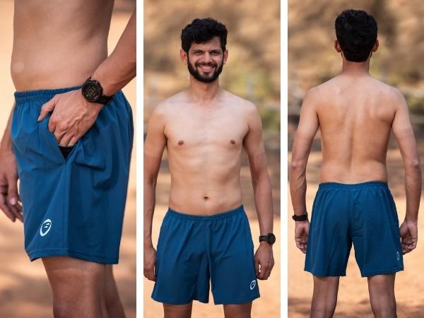 Apace Tempo Mens Running Shorts - Dark Teal
