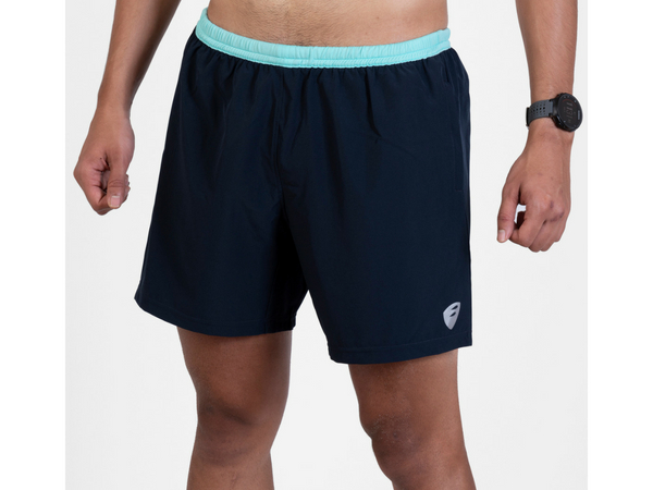 Apace Tempo Running Shorts Men - Navy