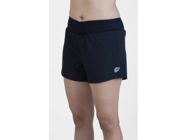 Apace Tempo Running Shorts Women - Navy