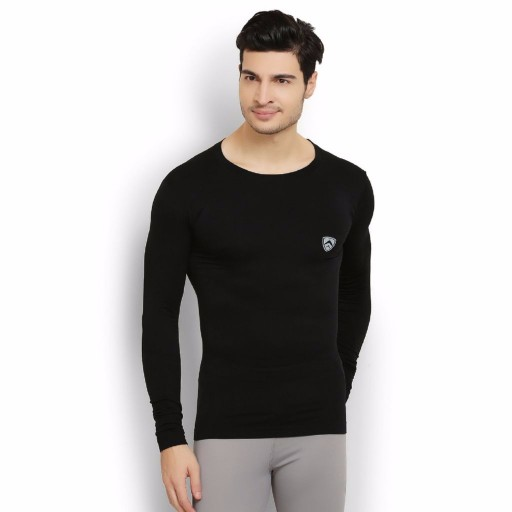 ARMR Black Aire-Pro Full Sleeve Seamless T-shirt