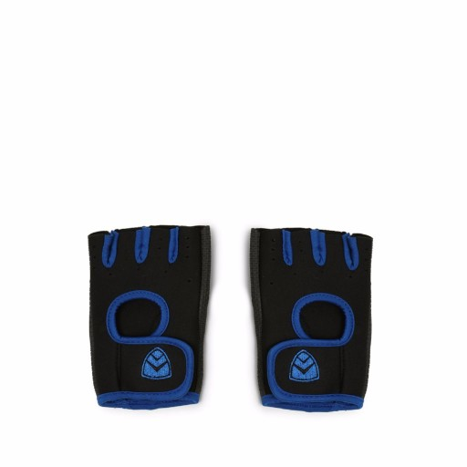 ARMR Black-Blue Sport Adjustable Gloves