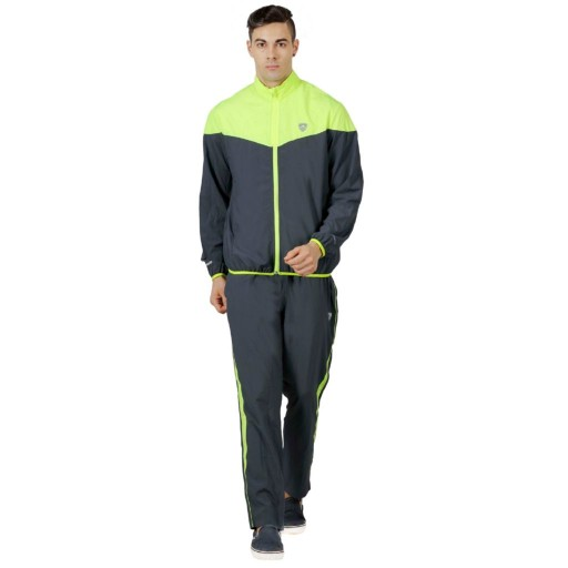 Armr Graphite/Neon Green Sport Training Jacket