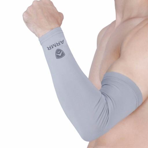 ARMR Grey SKYN Arm Sleeves
