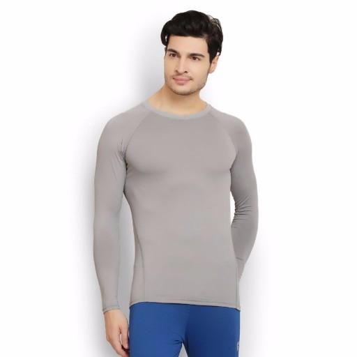 ARMR Grey SKYN Full-Sleeve T-shirt