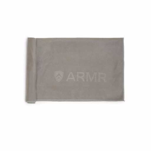 ARMR Grey Sport Quickdry Towel