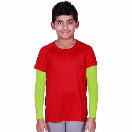 ARMR Junior Neon Green SKYN Arm Sleeves
