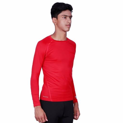 ARMR Junior Red SKYN Full-Sleeve T-Shirt