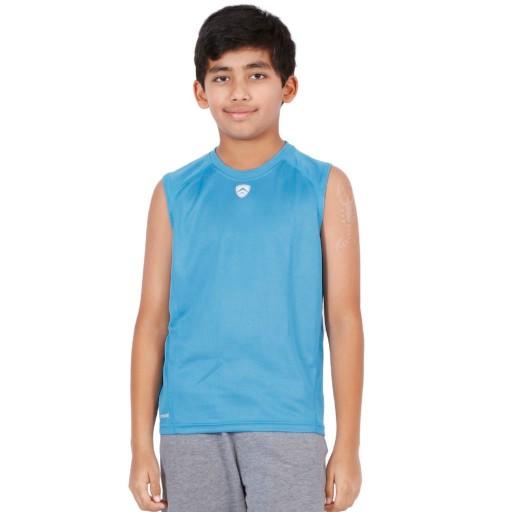 ARMR Junior Sky Blue Sport Sleeveless Tee