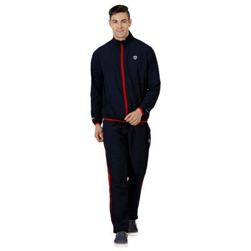 ARMR Navy Blue/Red Sport Training Jacket