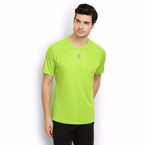 ARMR Neon Green Sport Crew Neck Tee