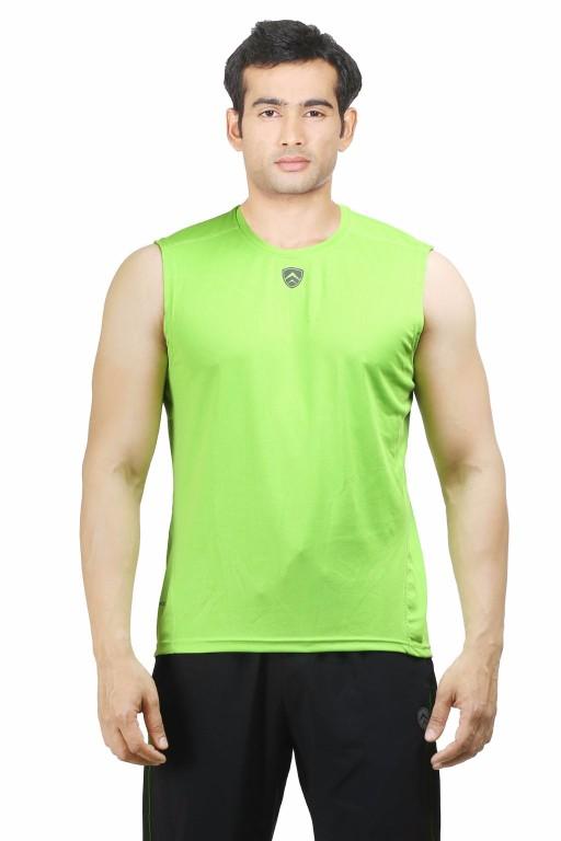 ARMR Neon Green Sport Sleevless Tee