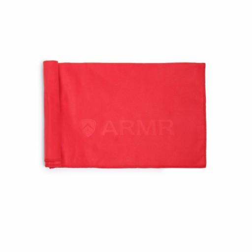 ARMR Red Sport Quickdry Towel