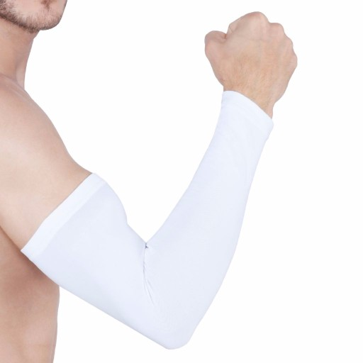 ARMR White SKYN Arm Sleeves