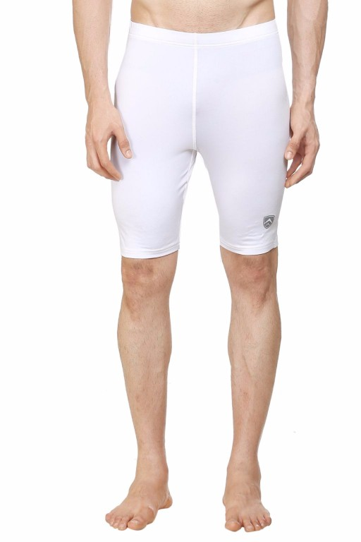 ARMR White SKYN Cycling Shorts