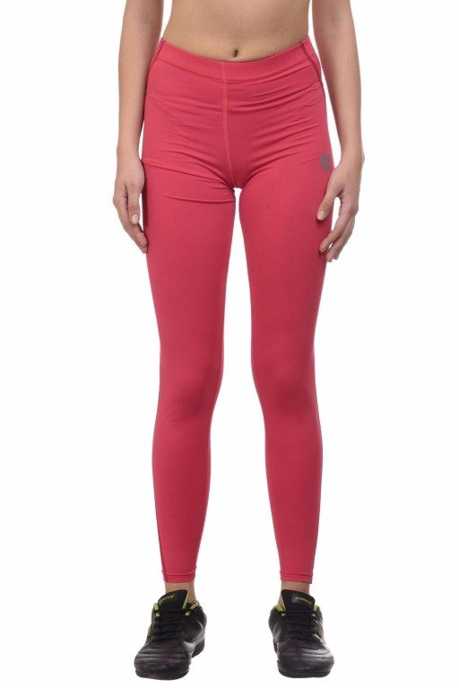 ARMR Women Coral/Dark Pink Sport Full-Length Tights