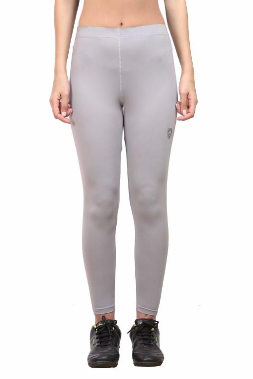 ARMR Women Grey SKYN Full-Length Tights